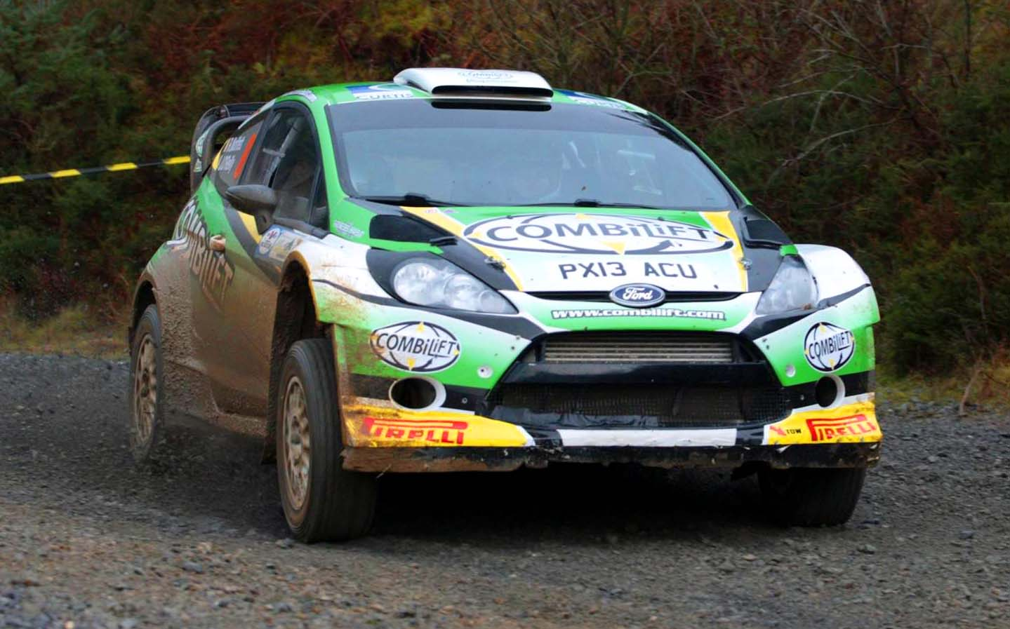 Willie Loughman Forest Rally 2016