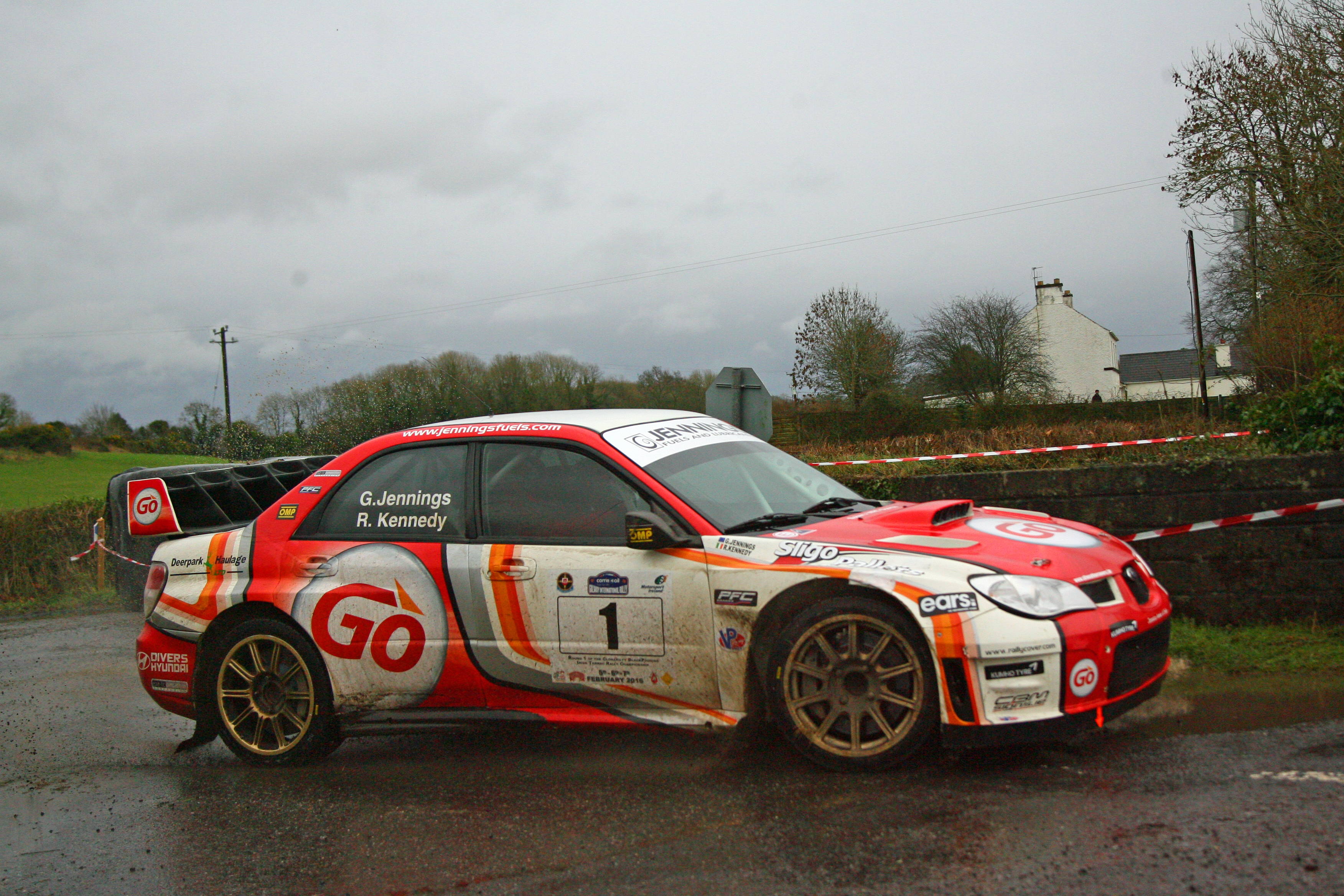 Corrib Oil Galway International Rally 2016